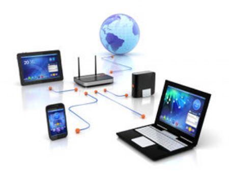 صورة لقسم  شبكات وانترنت