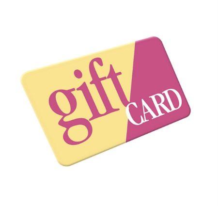 صورة لقسم بطاقة الهدايا