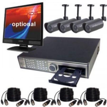 صورة لقسم أنظمة المراقبة الكاملة